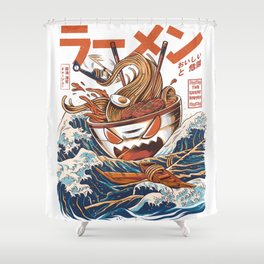 Great Ramen off Kanagawa Shower Curtain