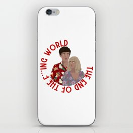 The ENd Of The F***ing World iPhone Skin