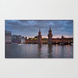 Oberbaumbrücke Canvas Print