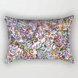 """Silliness"" by RenPenCreations Rectangular Pillow"