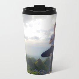 Mountain Top Yoga Travel Mug