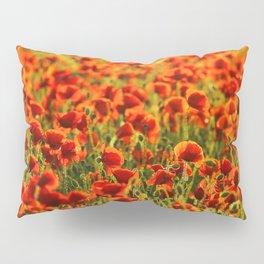Poppys. Pillow Sham
