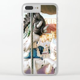 Merry-go-round Clear iPhone Case