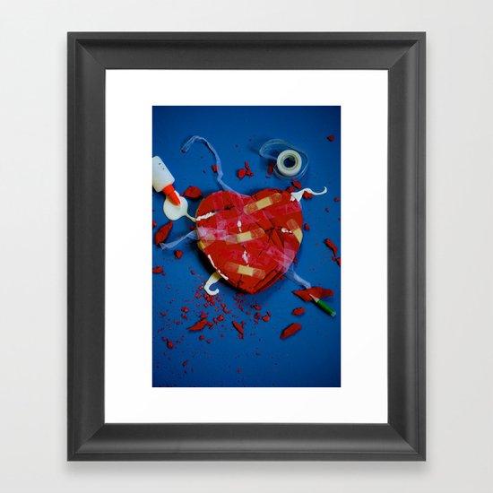 Fixed Framed Art Print