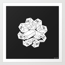 Apple Box Orgy Art Print