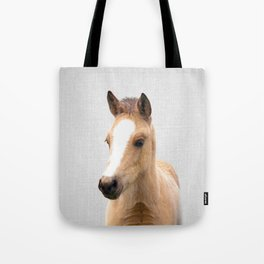 Baby Horse - Colorful Tote Bag