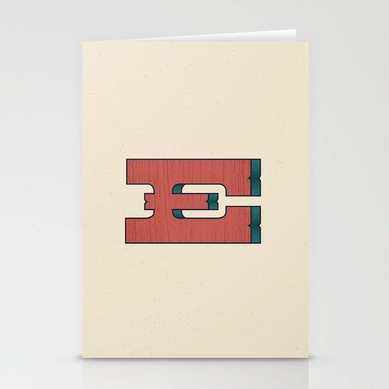 E 001 Stationery Cards