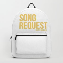 Song request Backpack