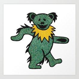 Grateful Dancing Bear Art Print