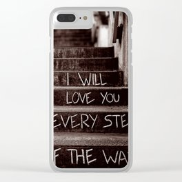 The Promise Clear iPhone Case