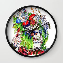 The rocking horse Wall Clock