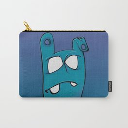 Blue Face Carry-All Pouch