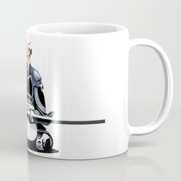 White Monkey King Coffee Mug