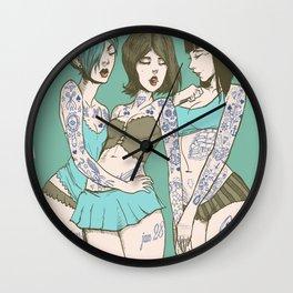 Toygirl Follies Wall Clock