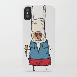 carrot (no bubble) iPhone Case