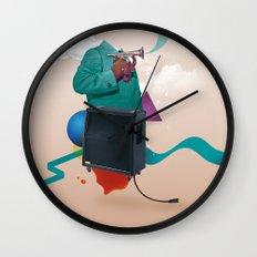 ILOVEMUSIC #2 Wall Clock
