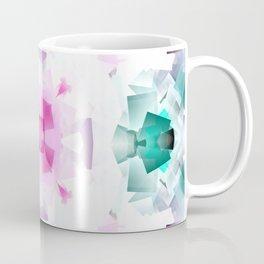 Pastel Cube Mandala Coffee Mug