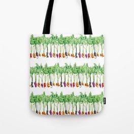 Funky Vegetables Tote Bag