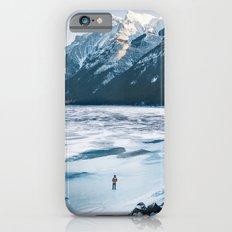 Winter at Lake Minnewanka iPhone 6s Slim Case