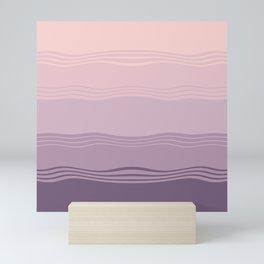 Lavanda fields Mini Art Print