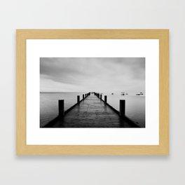 ghost ships #1 Framed Art Print