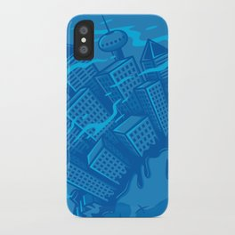 Dying planet iPhone Case