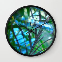 Paradise reflected Wall Clock