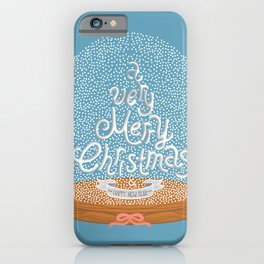 A VERY MERRY CHRISTMAS AND HAPPY NEW YEAR iPhone Case