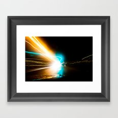 A night to die for. Framed Art Print