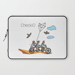 CheckiO bike Laptop Sleeve