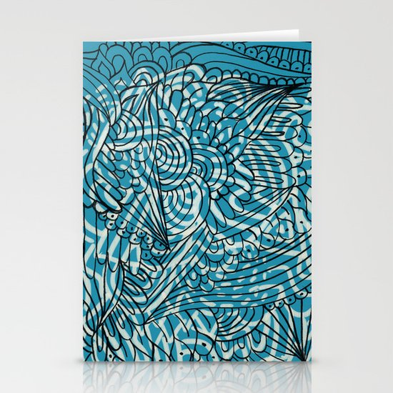Sea of Everything Stationery Cards