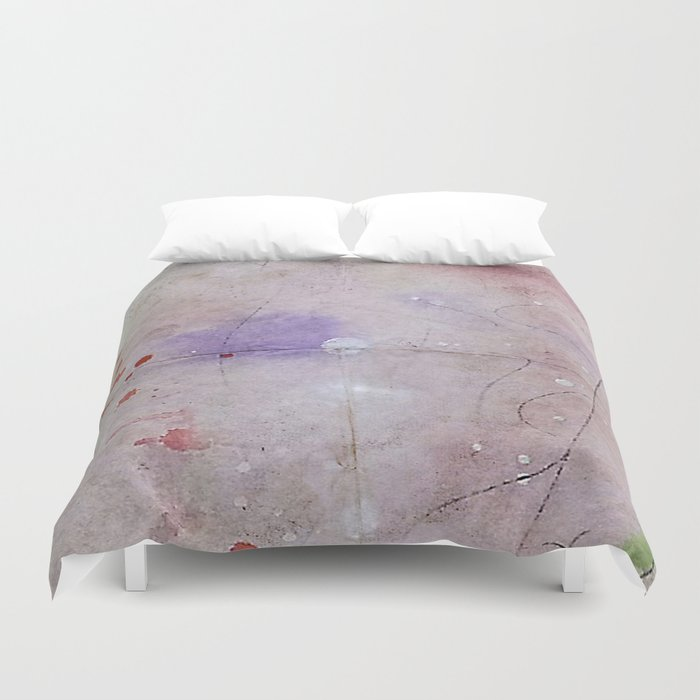 there's something in the air Duvet Cover