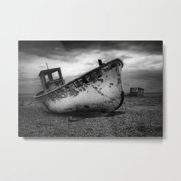The Trawler Metal Print