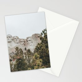 mt rushmore - nuetral colors Stationery Cards