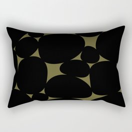 Stone Abstract - Earth Green Rectangular Pillow