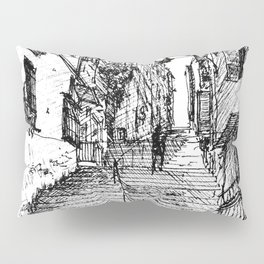 Naples Stairs Pillow Sham