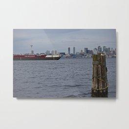 Seattle Waterfront Metal Print