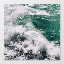Emerald greens Canvas Print