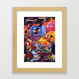 Ghost and Goblins Framed Art Print