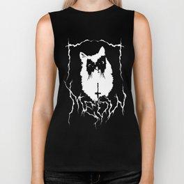 Black Metal Cat - Meow Biker Tank