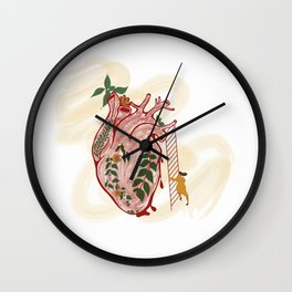 Distance to your Heart Wall Clock