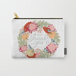 Thanksgiving thank you card Carry-All Pouch
