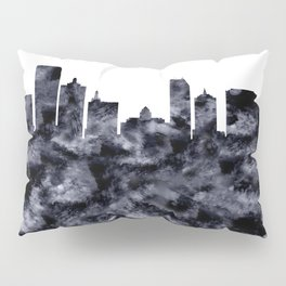 Atlantic City Skyline Pillow Sham