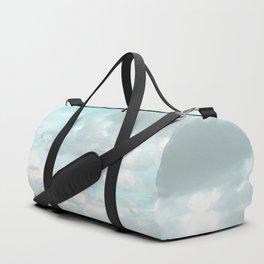 Head in the clouds #buyart #decor #freshair Duffle Bag