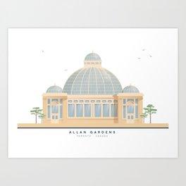 Allan Gardens | Icon-O-Tecture Art Print