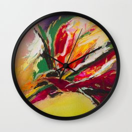 """""""Tropical Passion""""  Wall Clock"""