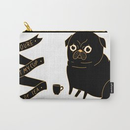 Tea Pug Carry-All Pouch