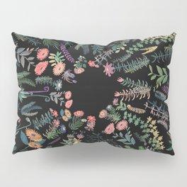 Drak circular garden Pillow Sham