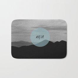 Fine mountains lines - #N/A Bath Mat