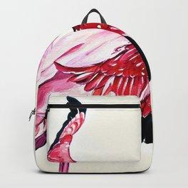 Watercolor Flamingo (Color) Backpack